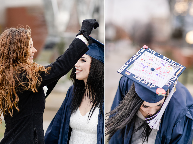 Mom helping cap Penn State graduate