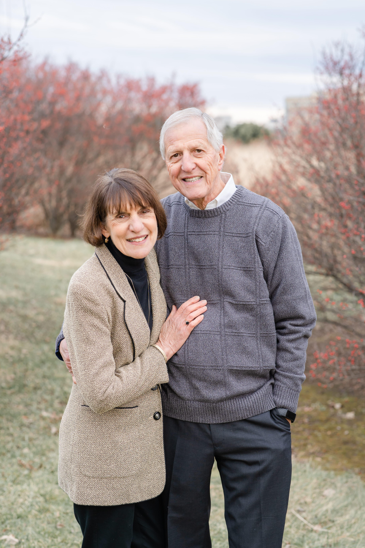 Celebrating 40th wedding anniversary at Penn State arboretum