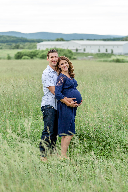 Penn State Arboretum Maternity Portraits