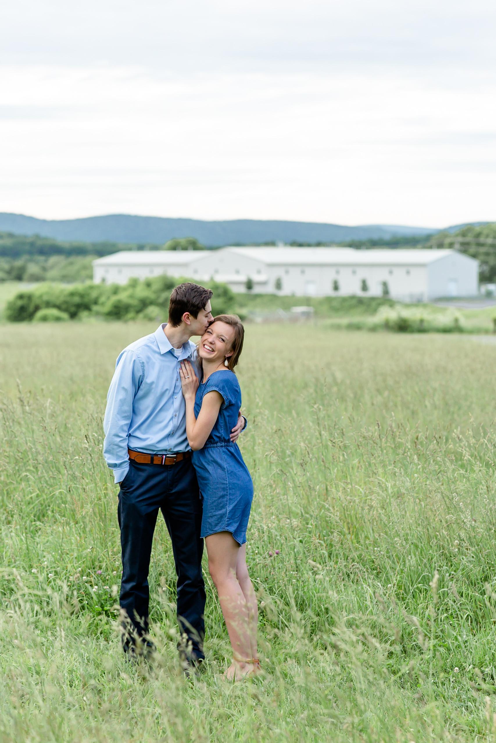 Penn State Arboretum Couple Portraits