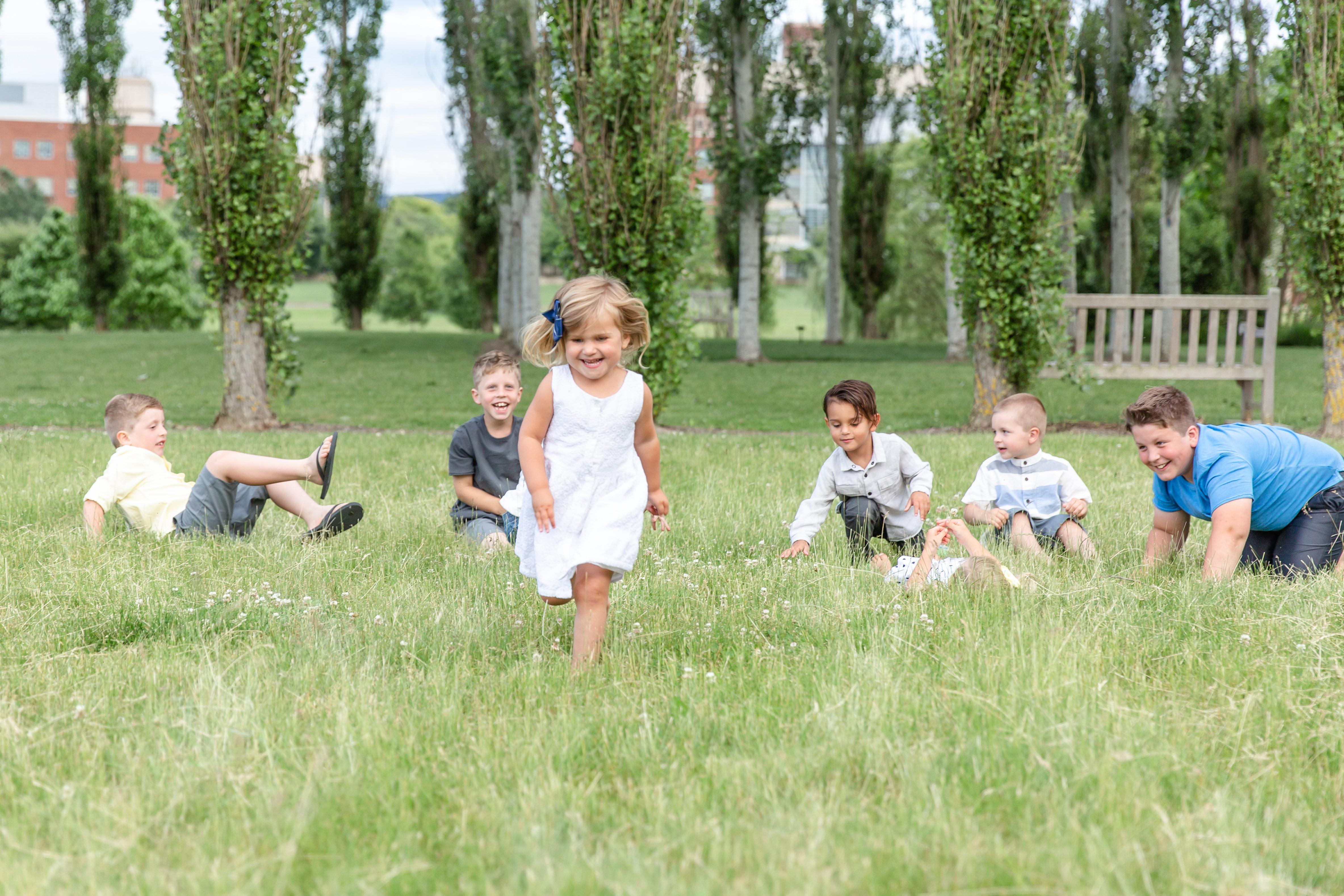 Penn State Arboretum Family Portraits