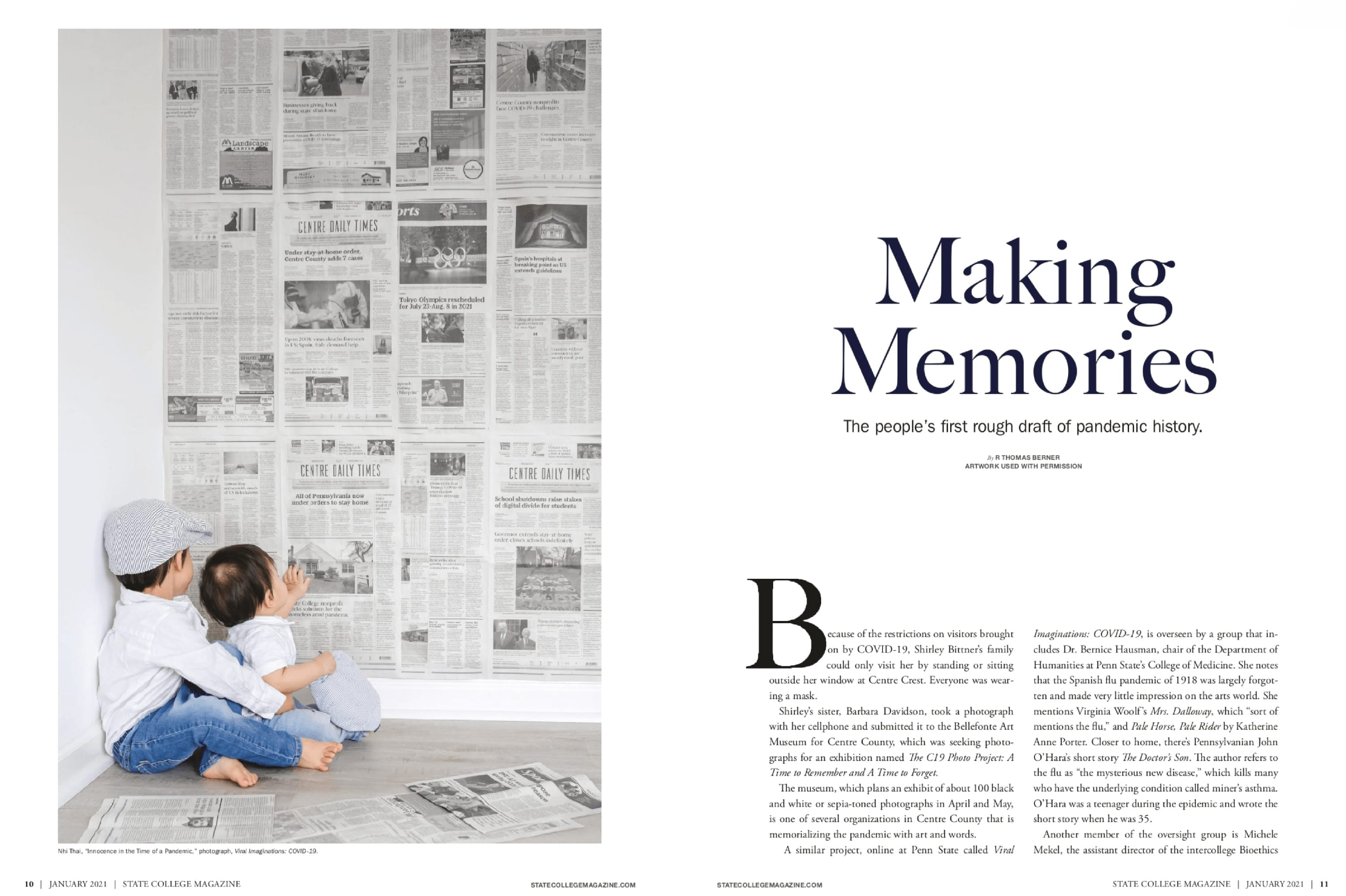Nhi Thai Photography featured in State College Magazine