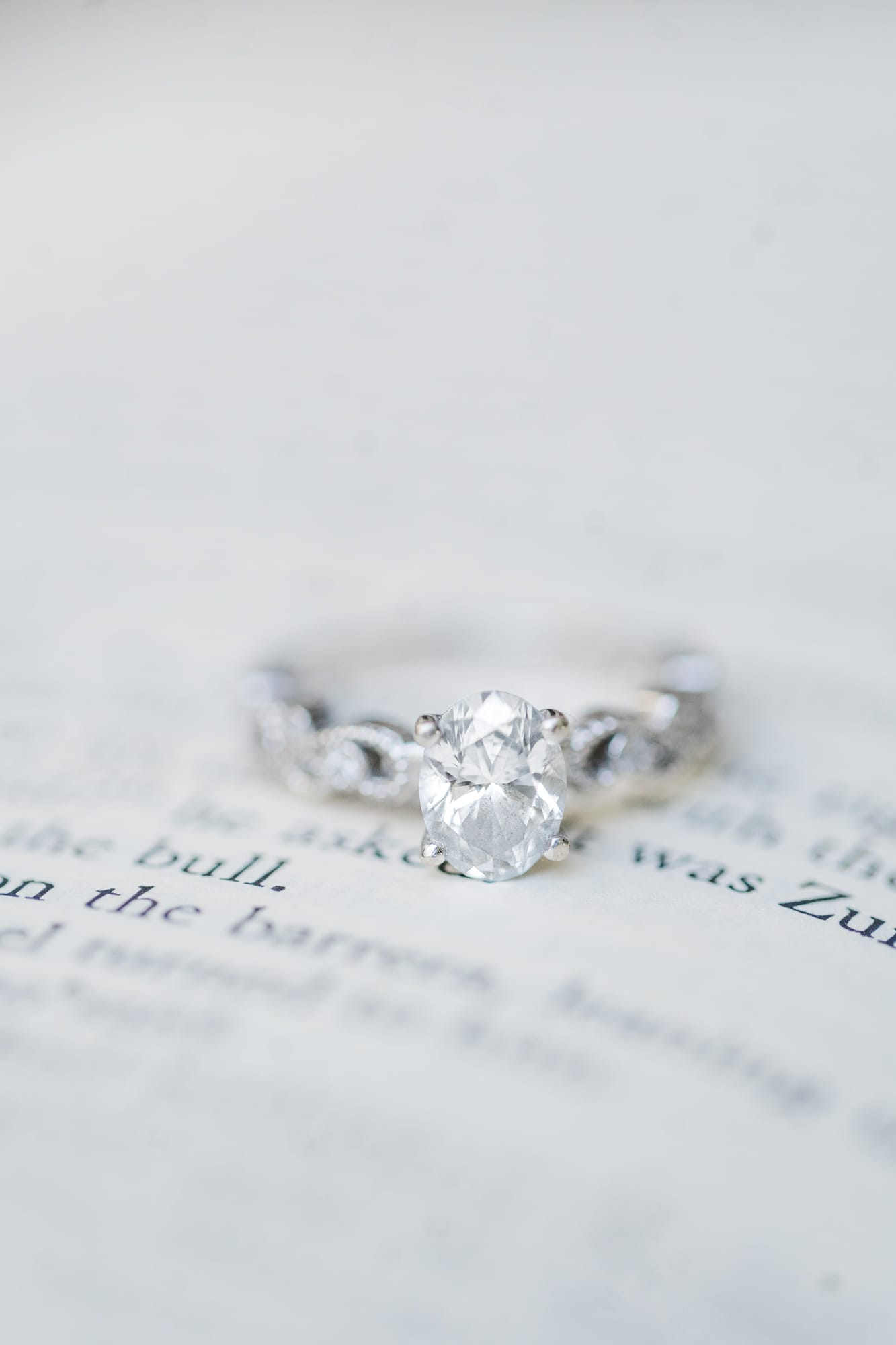 Ring shot with books