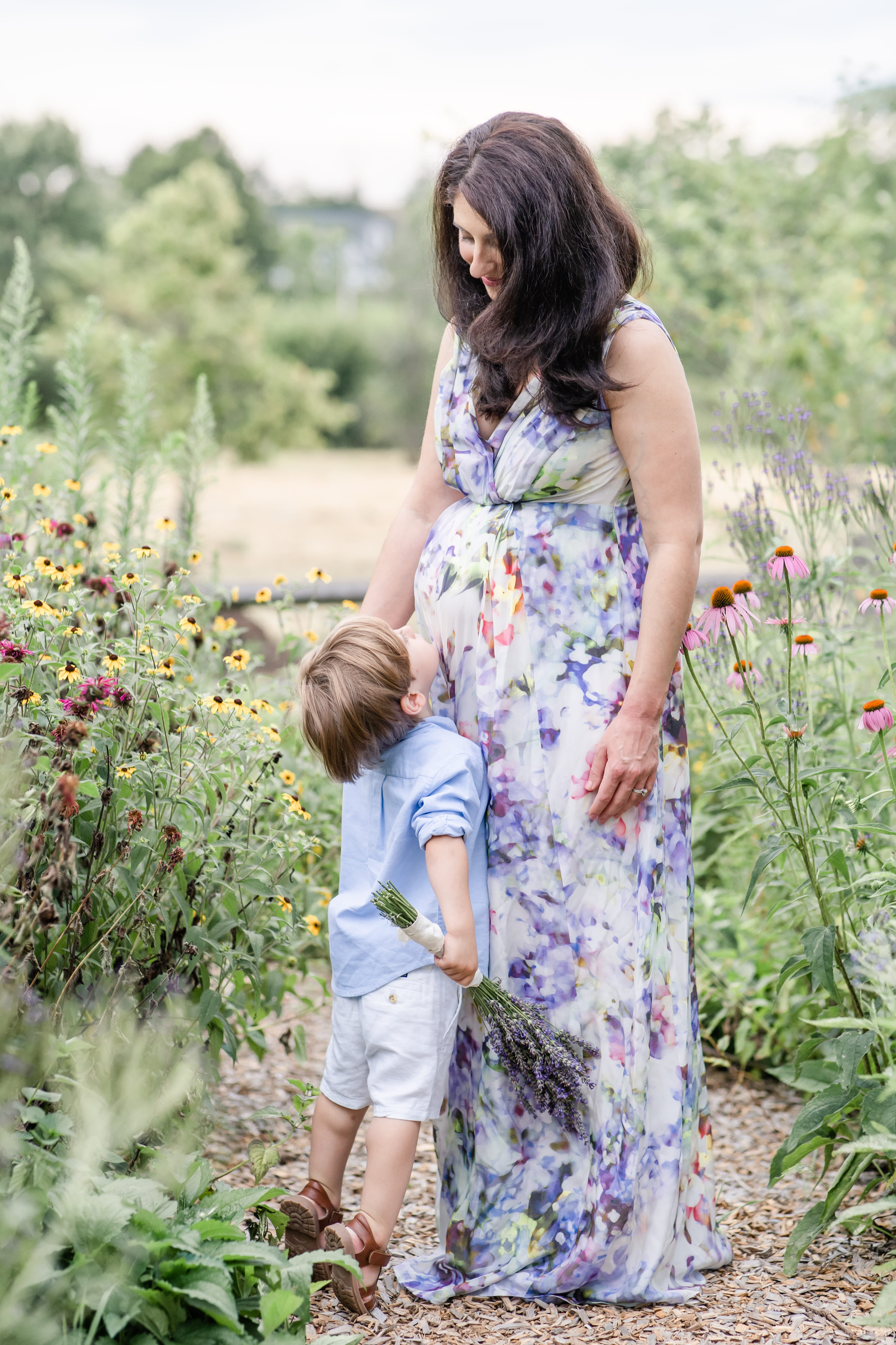 State College maternity photos at Millbrook Marsh