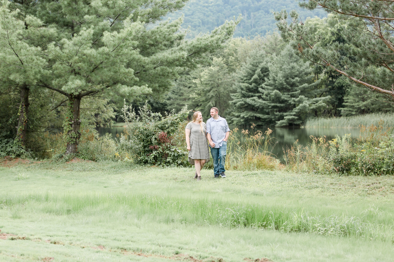 Couple at Tussey Mountain Lake