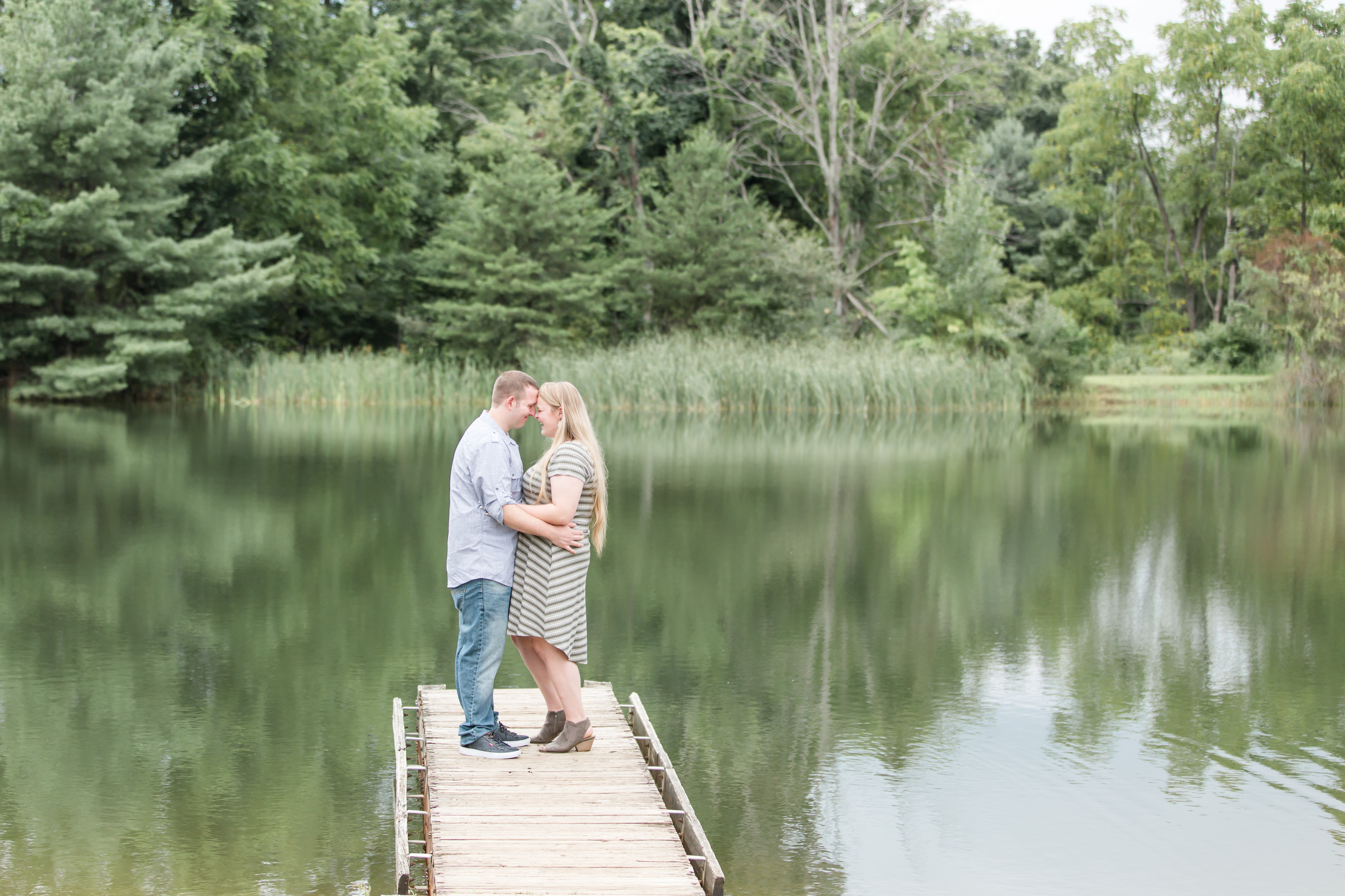A surprise proposal at Tussey Mountain pier