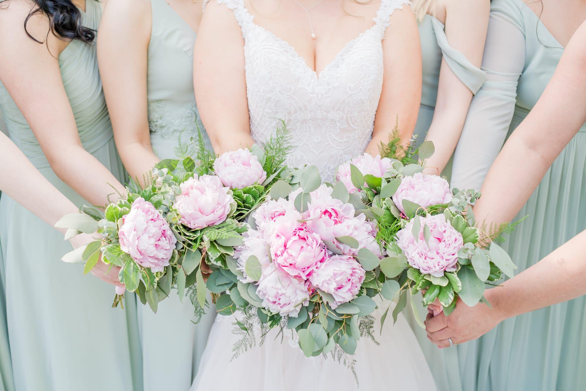 Central Pennsylvania PA summer wedding bouquets
