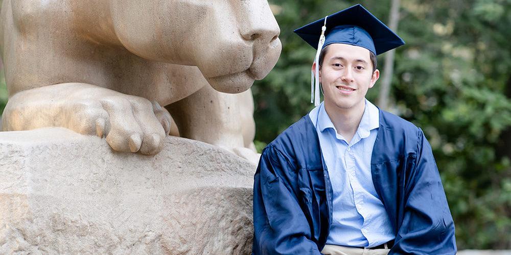 PSU 2020: Austin | Penn State Graduation Photographer