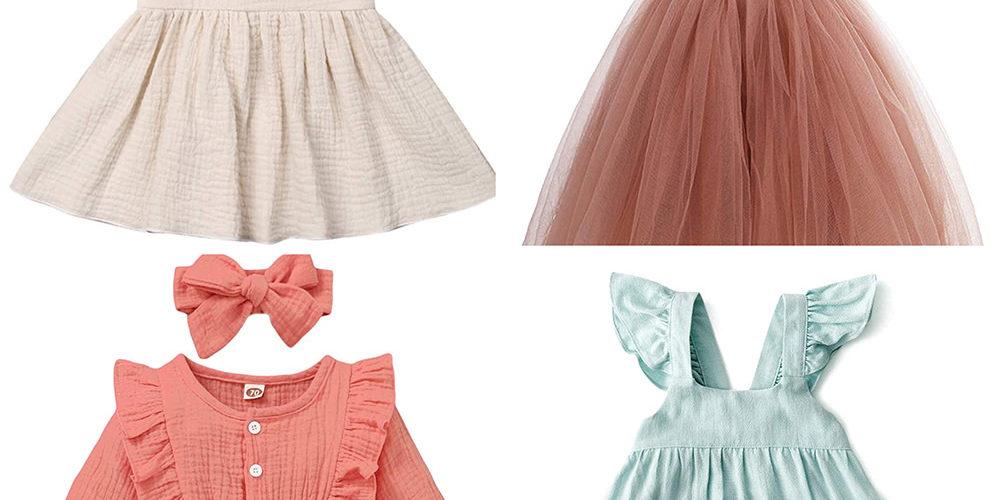 Girl Dresses Under $20 for Family Photos